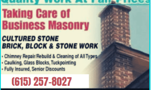 Masonry Repair Services in Franklin TN