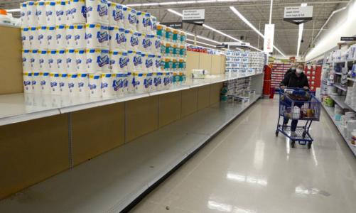 Toilet paper limits, empty shelves are back as virus surges – WOODTV.com