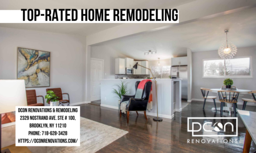 Top-Rated Home Remodeling | DCON Renovations & Remodeling | 718-628-3428
