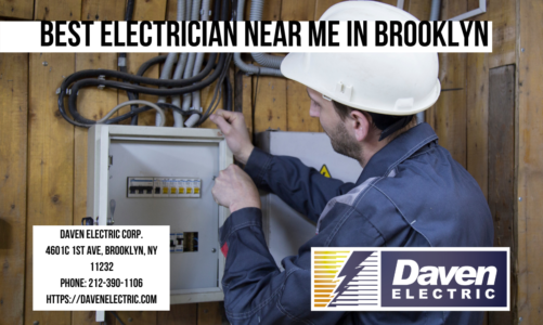 Best Electrician Near Me in Brooklyn | Daven Electric corp. | 212-390-1106