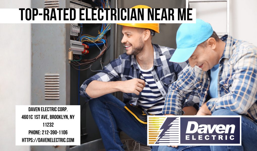Top-rated electrician near me