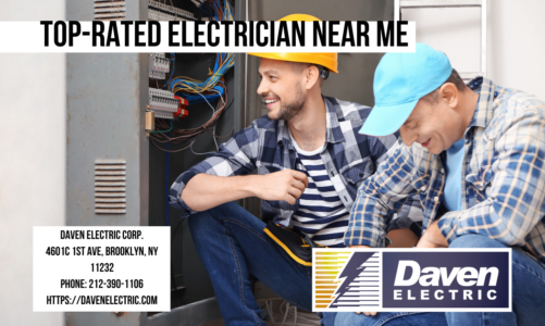 Top-Rated Electrician Near Me | Daven Electric corp. | 212-390-1106