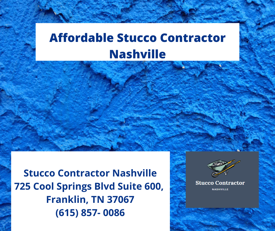 Affordable Stucco Contractor Nashville
