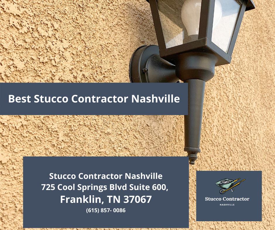 Best Stucco Contractor Nashville