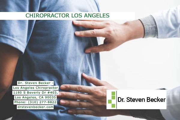 Chiropractor Los Angeles - Dr. Steven Becker Phone: (310) 277-8822