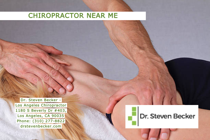 Chiropractor Near Me in Los Angeles, CA - Dr. Steven Becker Phone: (310) 277-8822