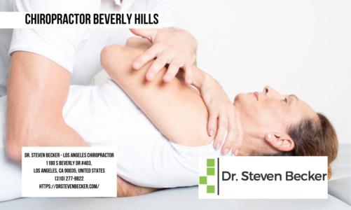 Chiropractor Beverly Hills | Dr. Steven Becker – Los Angeles Chiropractor | (310) 277-8822