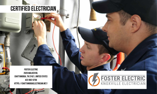 Certified Electrician | Foster Electric | 423-892-6759