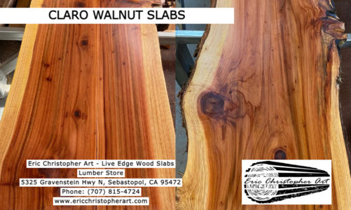 Claro Walnut Slabs