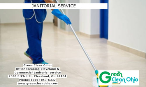 Janitorial Service | Green Clean Ohio | (866) 853-6337
