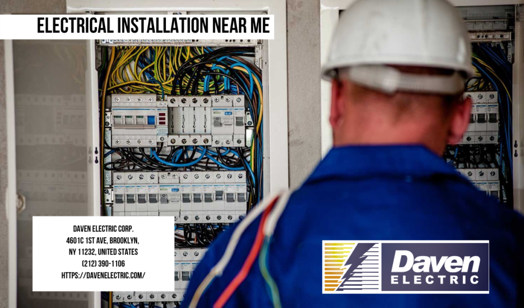 Electrical Installation Near Me