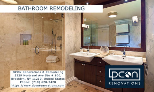 Bathroom Remodeling | DCON Renovations & Remodeling | (718) 628-3428