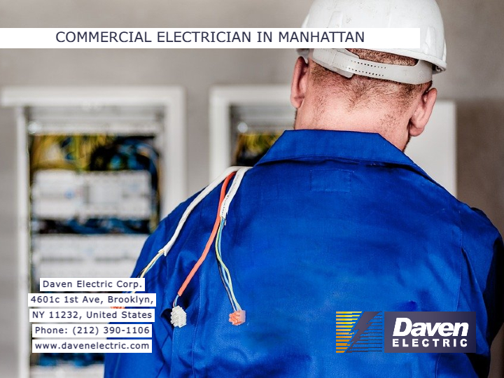 Commercial Electrician in Manhattan