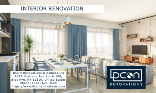 Interior Renovation | DCON Renovations & Remodeling | (718) 628-3428