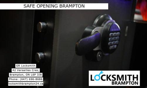 Safe Opening Brampton | GR Locksmith | (647) 696-8686