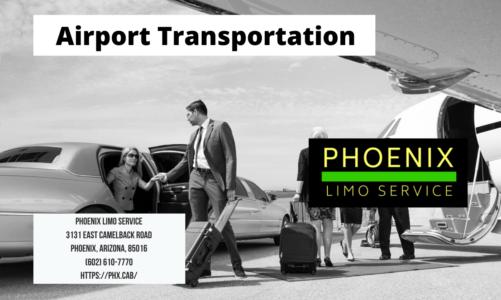 Airport Transportation | Phoenix Limo Service | (602) 610-7770