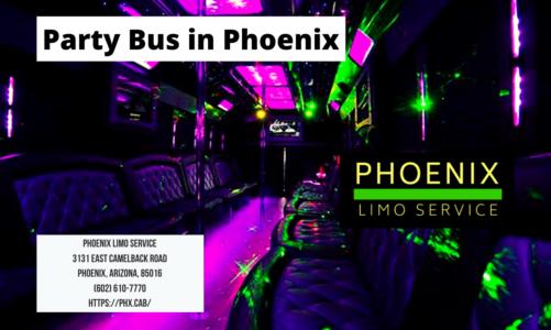 Party Bus in Phoenix | Phoenix Limo Service | (602) 610-7770