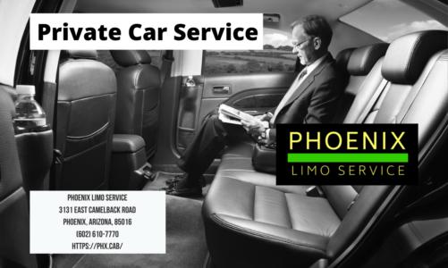 Private Car Service | Phoenix Limo Service | (602) 610-7770